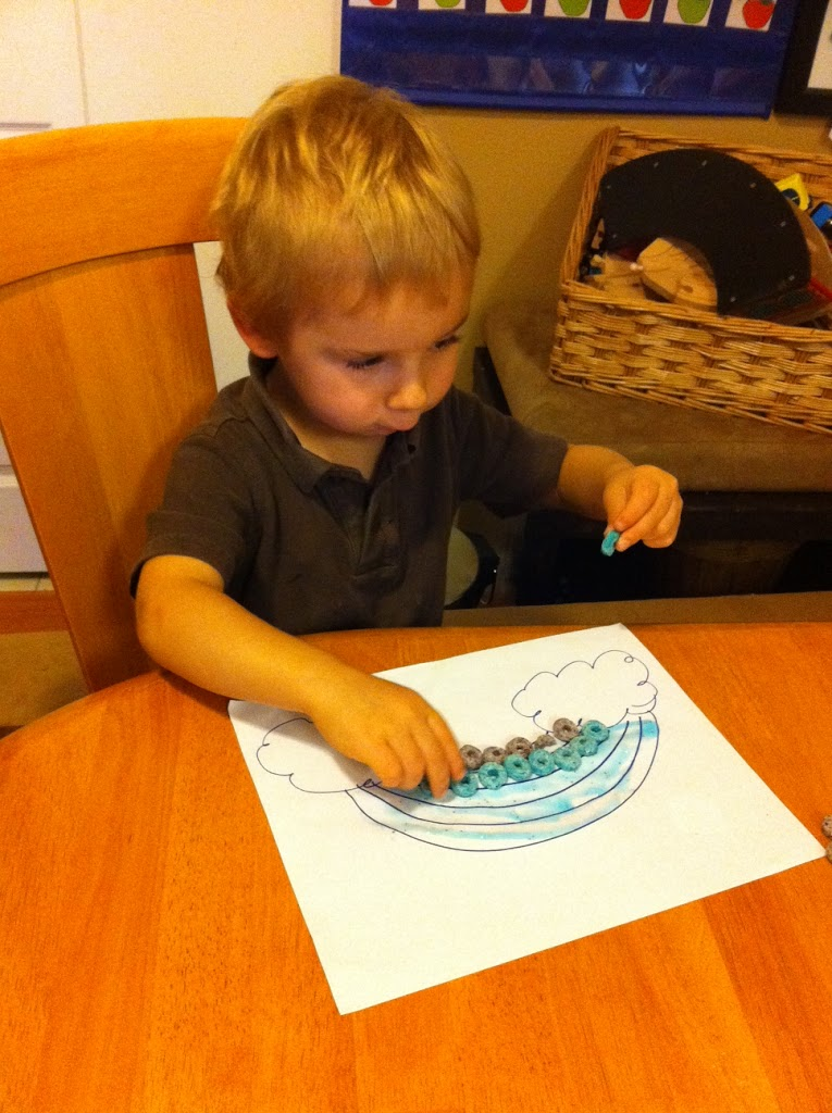 Our Homeschool Week – ABCJLM Week 5 – Noah's Ark