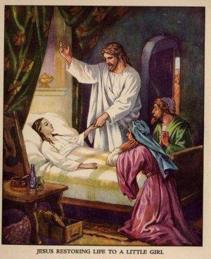 Jesus Heals the Little Girl (Homeschool Lessons)