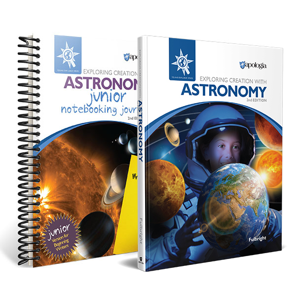 Astronomy curriculum from Apologia for a space unit study