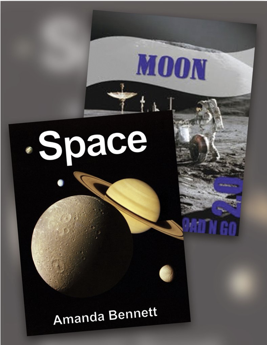 Space unit study and moon unit study from Unit Studies by Amanda Bennett