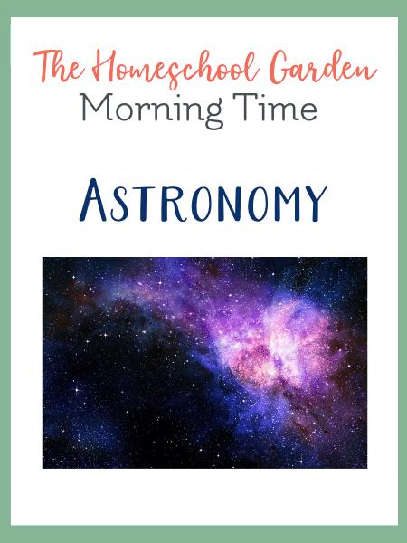 Charlotte Mason Astronomy with The Homeschool Garden