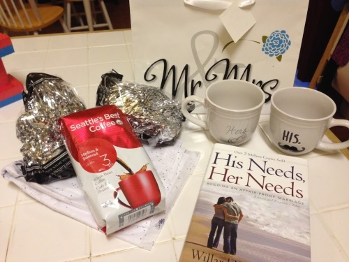 His Hers Wedding Gift Ideas : This easy gift idea for couples would be a great Christmas, wedding ...