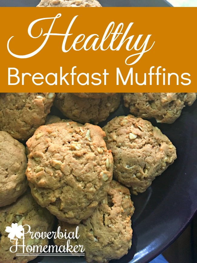 Healthy Breakfast Muffins For Busy Mornings
