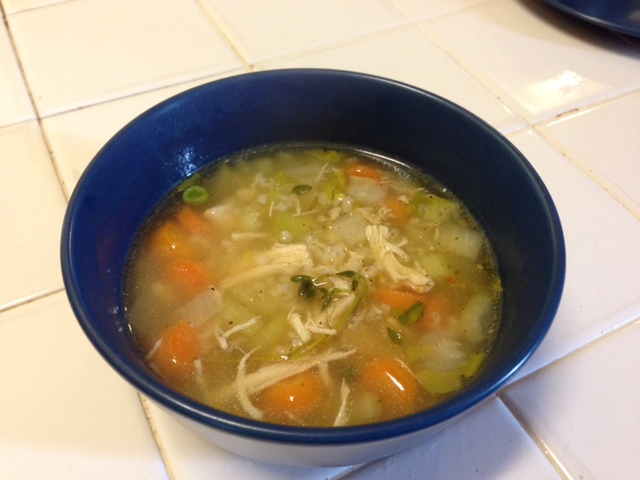 Meals as Ministry: Chicken Rice Soup