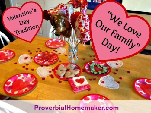 Valentine S Day Family Celebration Printables Proverbial Homemaker