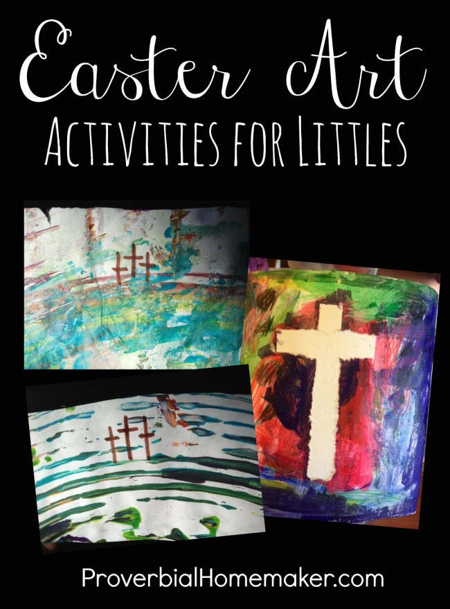 Christ-Centered Easter Art Activities for Littles