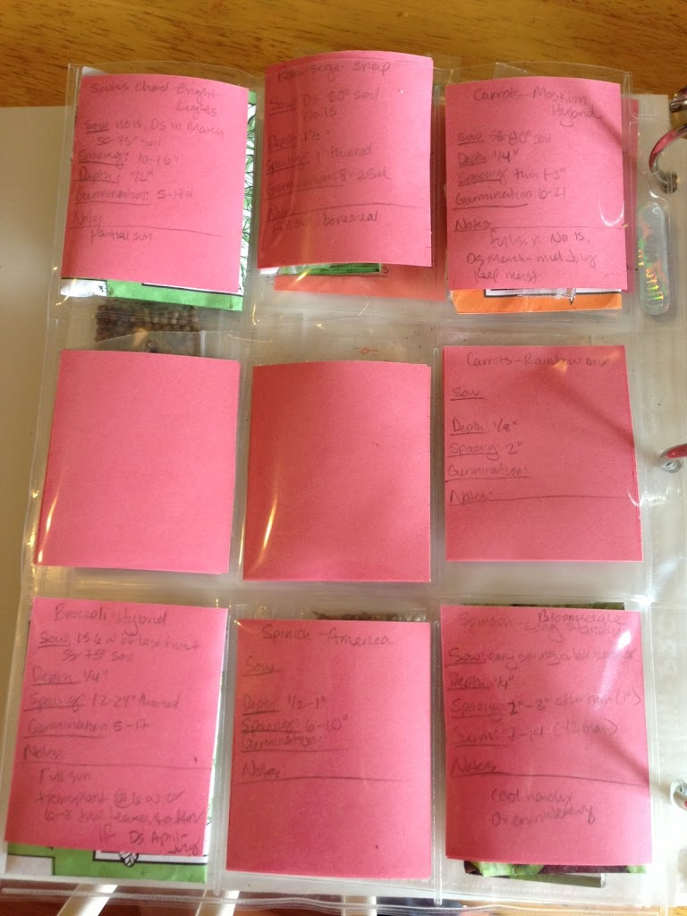 Simple Seed Storage Binder www.proverbialhomemaker.com Learn how to create your own seed storage binder.