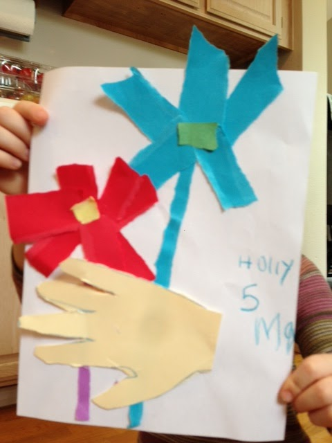 Picasso Flowers Art Project