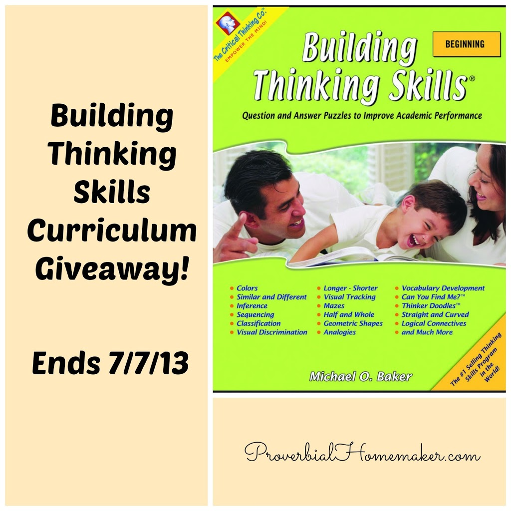 critical thinking homeschool curriculum reviews A comparison for first grade math curricula for homeschooling  focus on drill  and others focus on building number sense and thinking skills  here is a good  review with some more thoughts on saxon and concerns with the program  i'm  using mathematical reasoning workbooks from the critical.