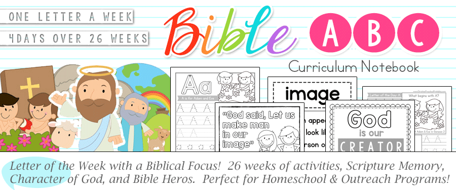 ABC Bible Curriculum for Kindergarten