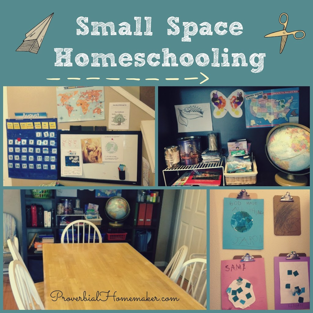 Small space homeschooling for Utilizing space in a small bedroom