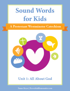 Theology and catechism lessons for children