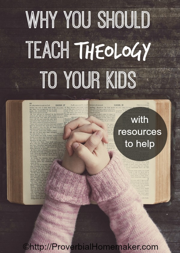 Teach theology and the basics of the Christian faith to children