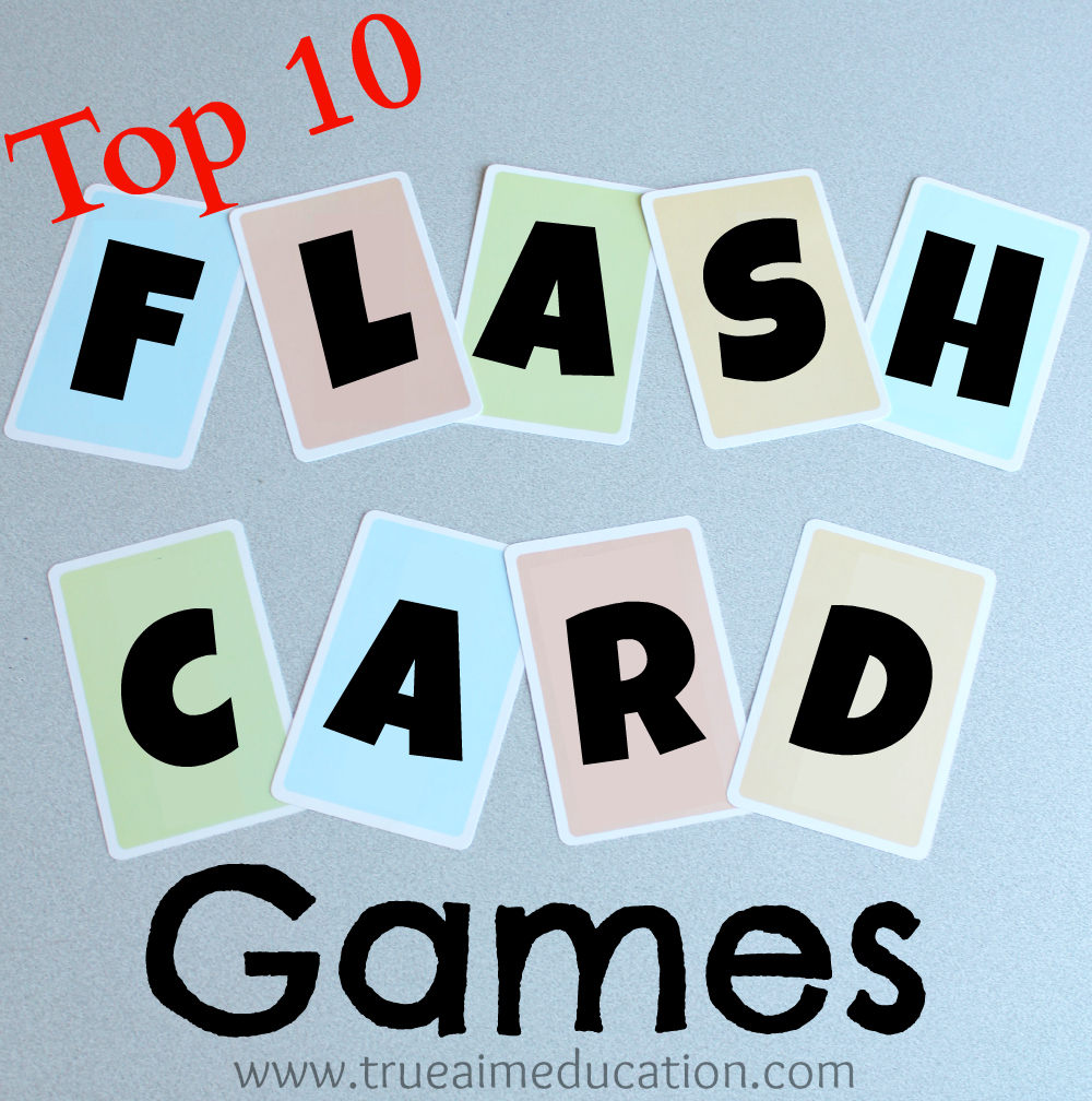 Easy Flash Card Games (FULL Pre-k/K Curriculum Giveaway ...
