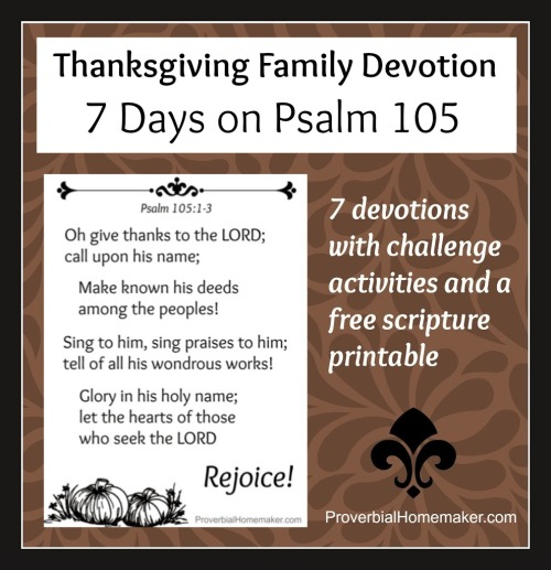 scripture poster and printable devotions
