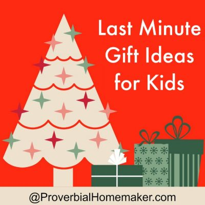 Last Minute Gift Ideas for Kids ($50 Gift Card Giveaway!)
