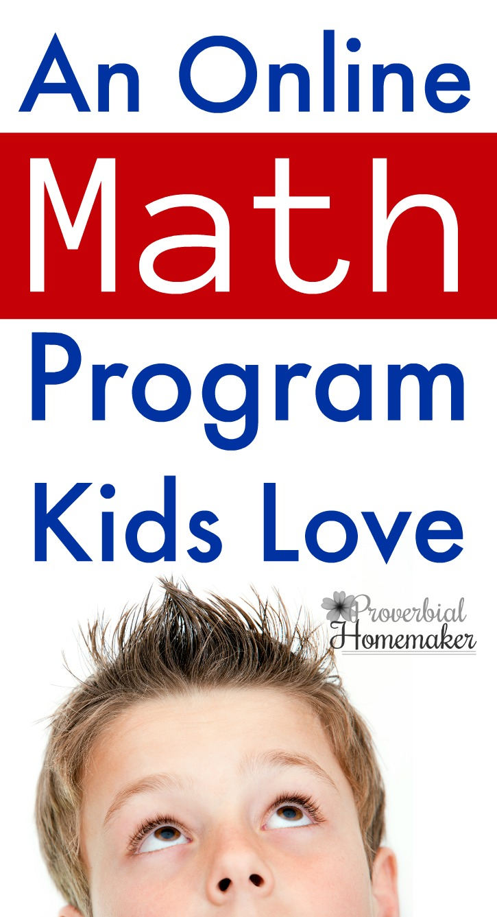 An Online Math Program Kids Love - Proverbial Homemaker