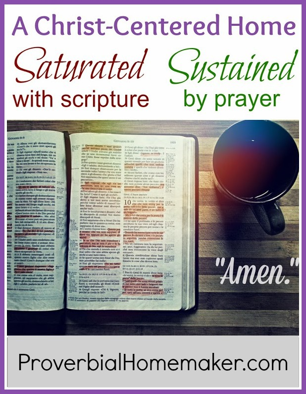 Christian Home Scripture and Prayer