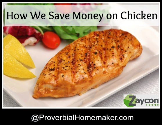 How we save money on chicken with Zaycon foods