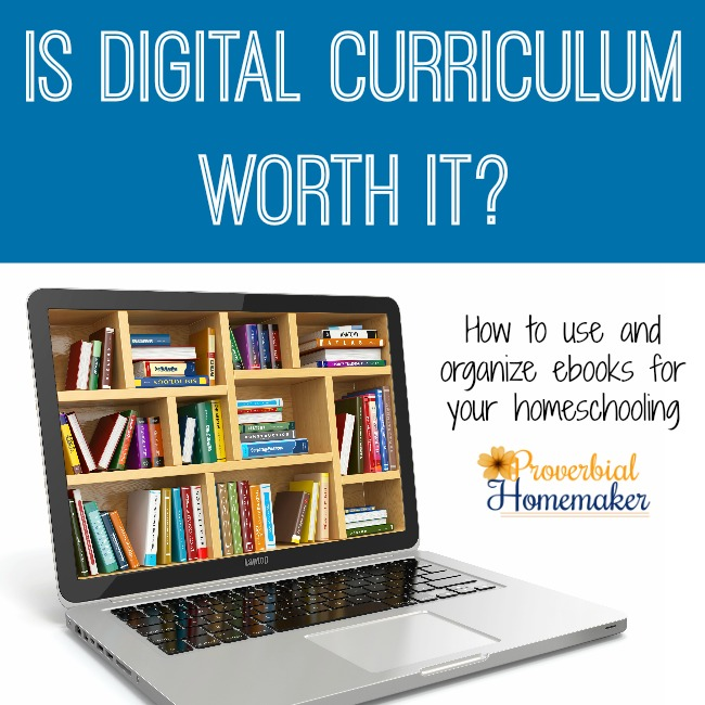Using Digital Curriculum in Your Homeschool