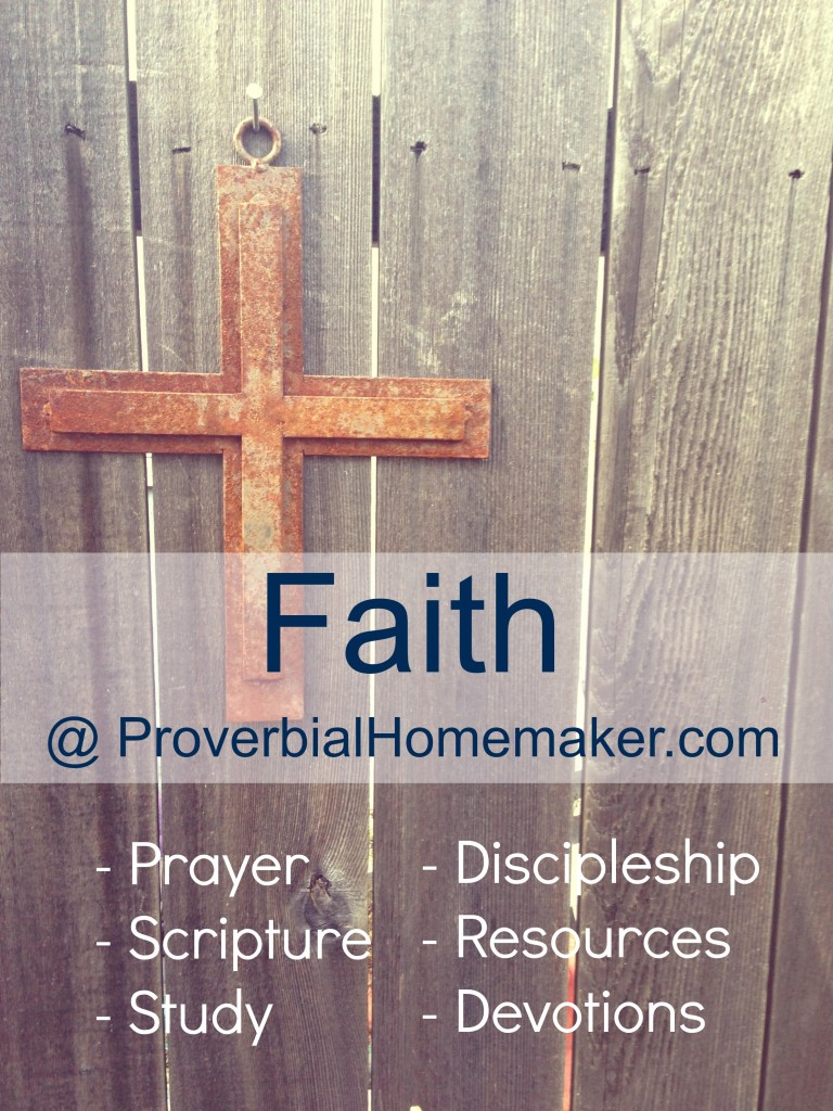 Faith at Proverbial Homemaker