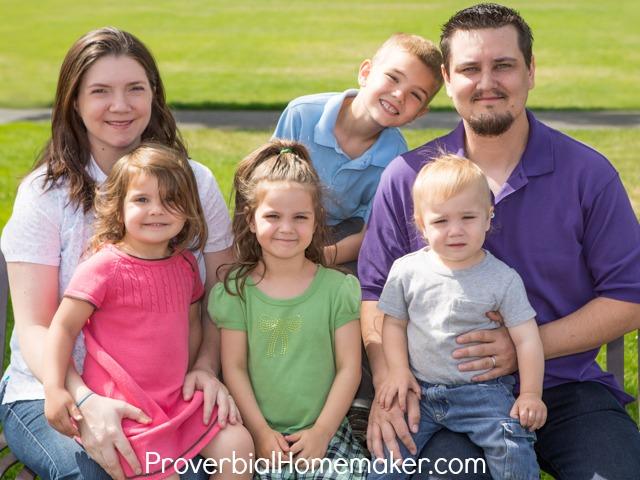 Family Proverbial Homemaker