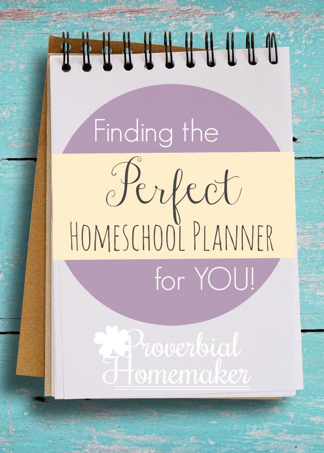 Looking for the perfect homeschool planner that fits YOUR needs and style!?