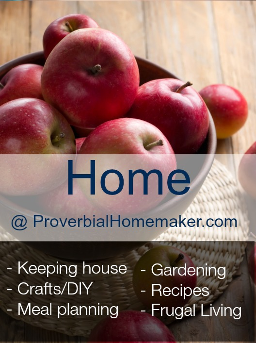 Homemaking at Proverbial Homemaker