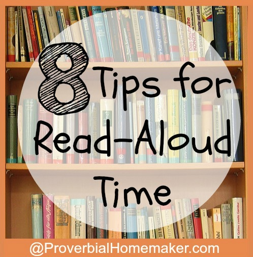 8 Tips for Read Aloud Time