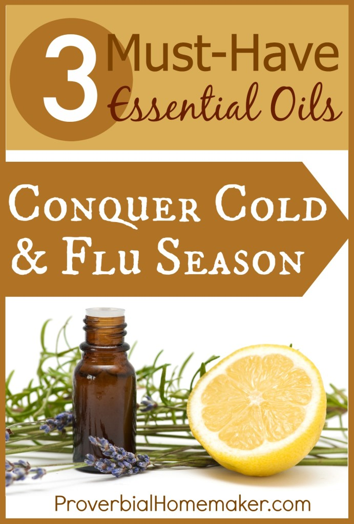 Three Must Have Essential Oils For Cold And Flu Season