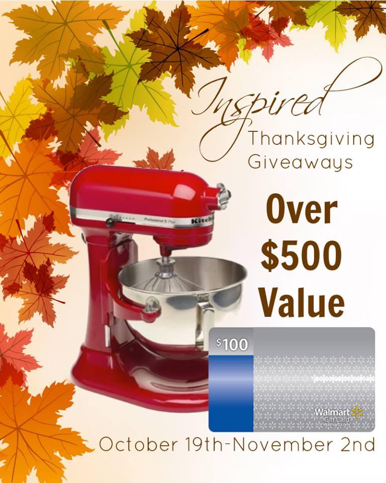 Giveaway Kitchenaid Stand Mixer And 100 At Walmart