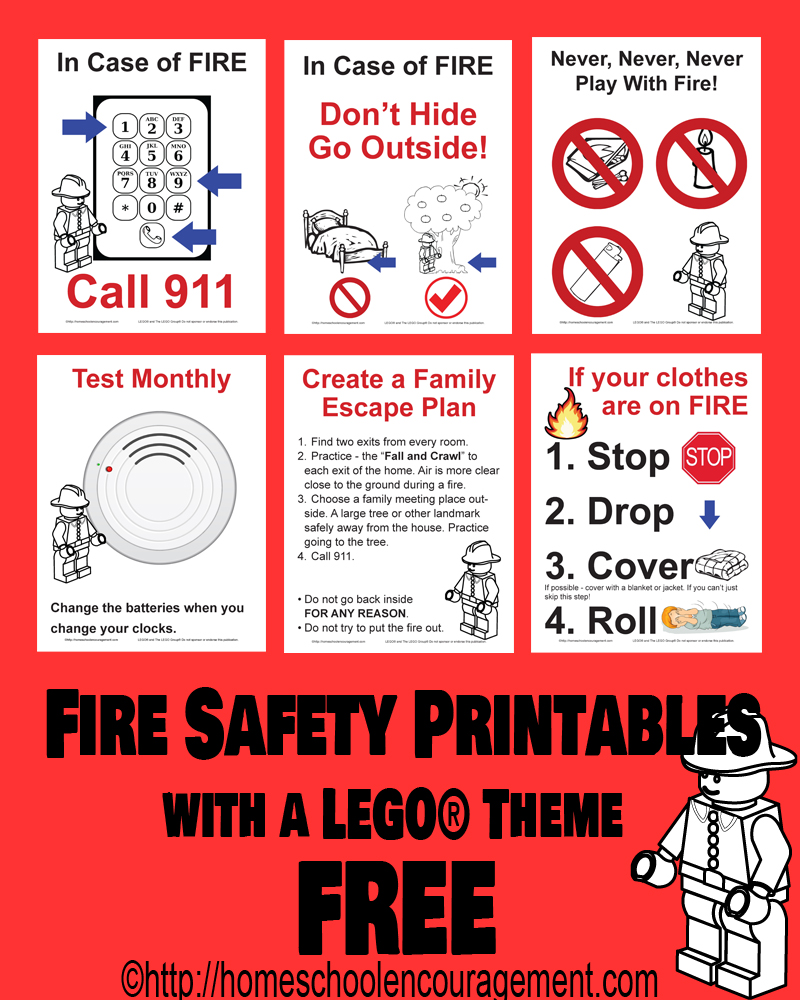 Fire safety resources for parents for Fire escape plan worksheet