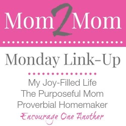 Share posts on motherhood, homemaking, homeschooling and more!