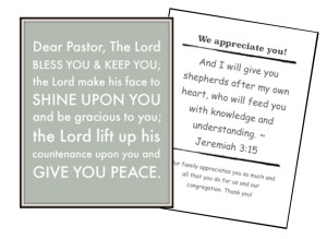 Pastor Appreciation Cards Free Printable For Kids