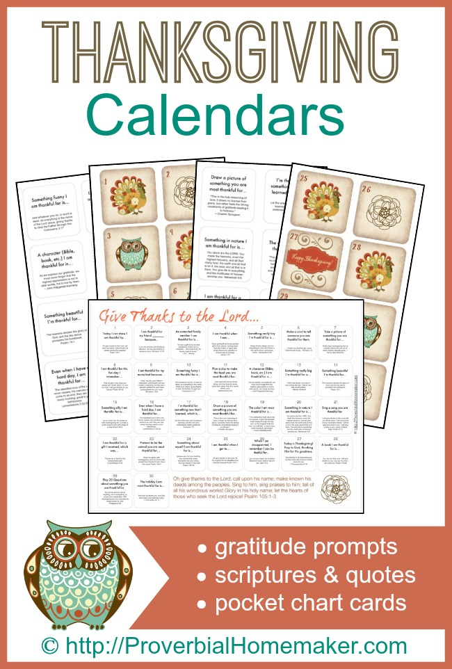 focus on gratitude and thankfulness in November with your kids!