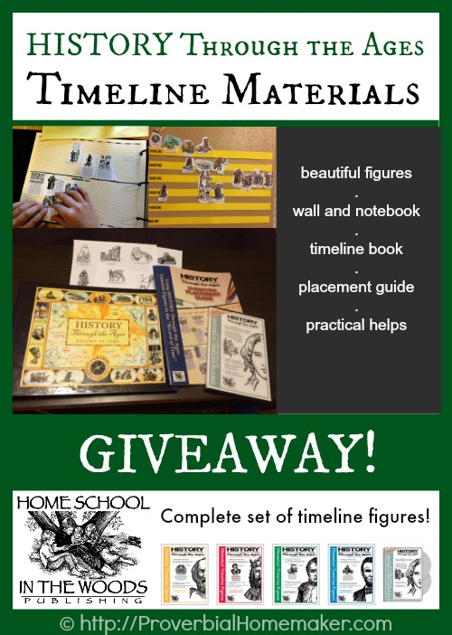 Timeline tools and helps for homeschoolers