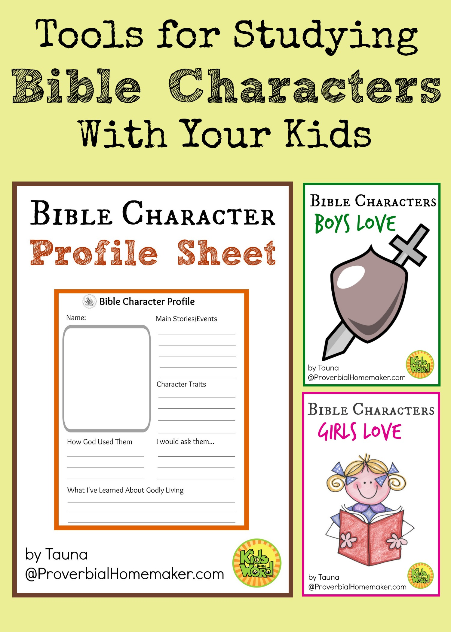 picture relating to Printable Bible Characters known as Equipment for Reading Bible People with Your Little ones