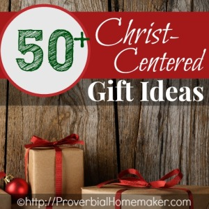 Gifts for kids and adults to focus on Jesus
