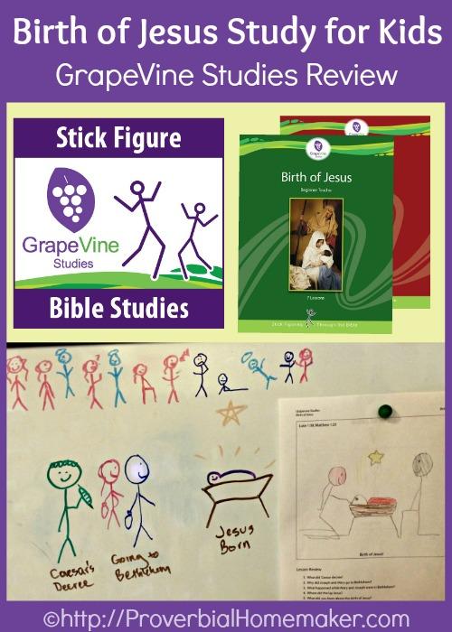 GrapeVine Studies Birth of Jesus Review