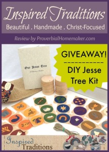Jesse Tree ornaments from InspiredTraditions - A great advent activity for the whole family
