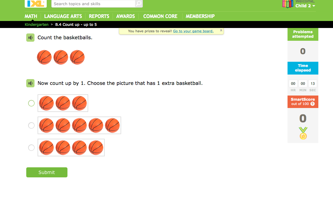 Fun Math & Language Arts Practice with IXL