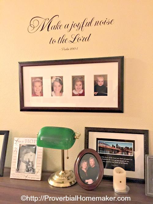 scripture wall decals wise decor. Black Bedroom Furniture Sets. Home Design Ideas