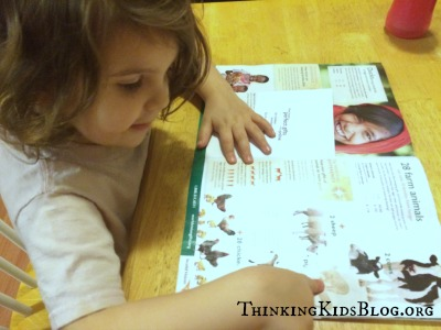 Choosing a Gift for Jesus with World Vision