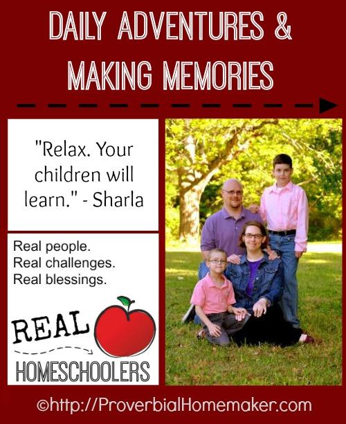 Real Homeschoolers Sharla