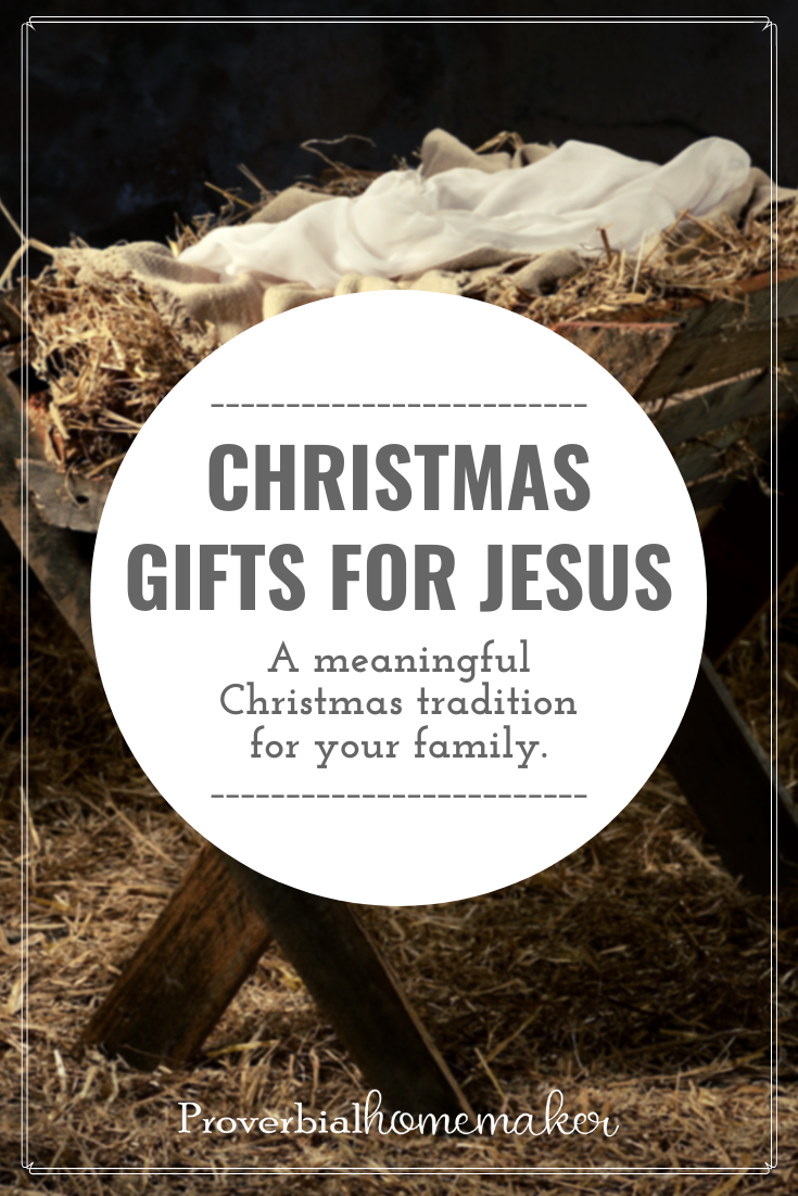 Birthday gifts for jesus