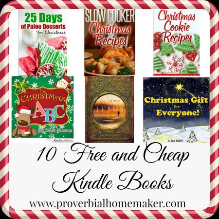 10 Free & Cheap Christmas eBooks 12/12/14