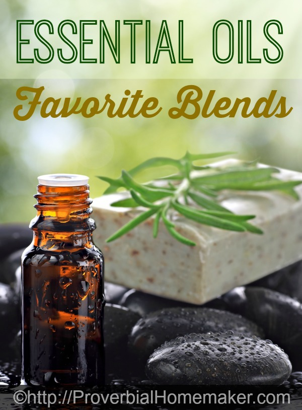 Great essential oils blends to try