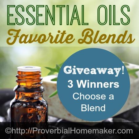 Favorite Blends Essential Oils