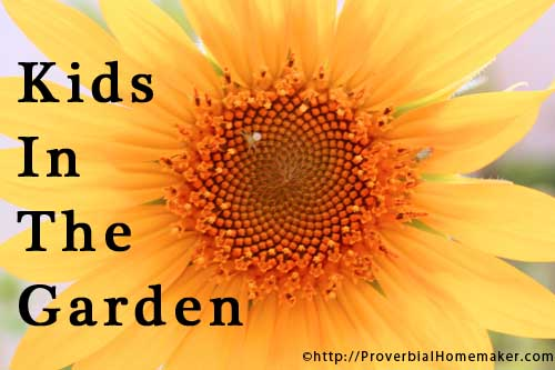 Bring your kids into the garden for great learning and family time!