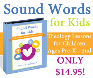 Teach your children the basics of the Christian faith with lessons and memory work!